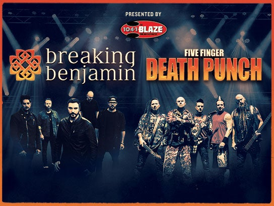 More Info for Breaking Benjamin & Five Finger Death Punch