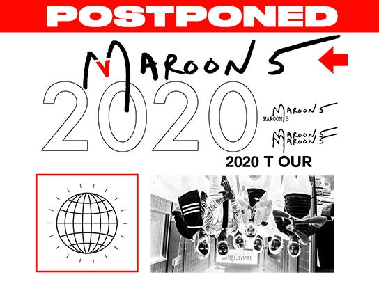 More Info for POSTPONED — Maroon 5
