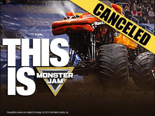 More Info for CANCELED — Monster Jam
