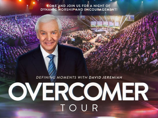 More Info for OVERCOMER Tour with Dr. David Jeremiah