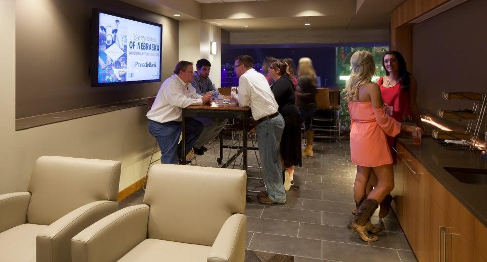 Premium Suites Pinnacle Bank Arena