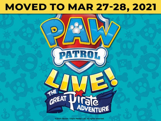 More Info for PAW Patrol Live! The Great Pirate Adventure