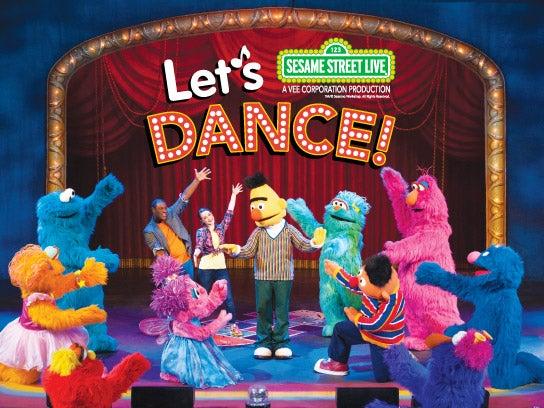 Lets Dance Update: Sesame Street Live: Let's Dance!