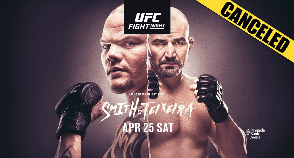 Canceled Ufc Fight Night Pinnacle Bank Arena